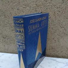 Libros antiguos: SUMMA ARTIS LA PINTURA ESPAÑOLA SIGLO XVII TOMO XXV. Lote 131662498