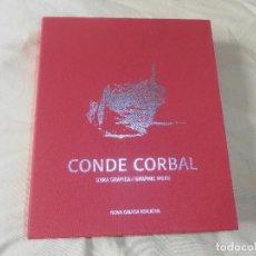Libros antiguos: CONDE CORBAL - OBRA GRAFICA - GRAPHIC WORK - 2 TOMOS. Lote 131724470