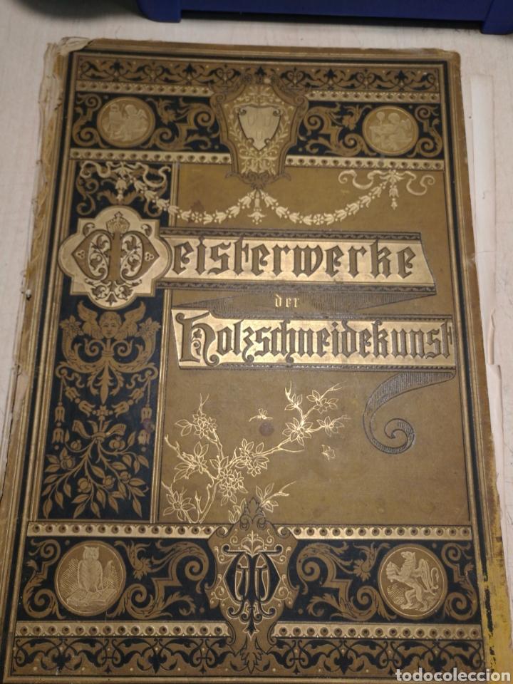 REBAJADO!!. LIBRO EN ALEMAN CON NUMEROSAS LITOGRAFIAS, 1888. (Libros Antiguos, Raros y Curiosos - Bellas artes, ocio y coleccion - Pintura)