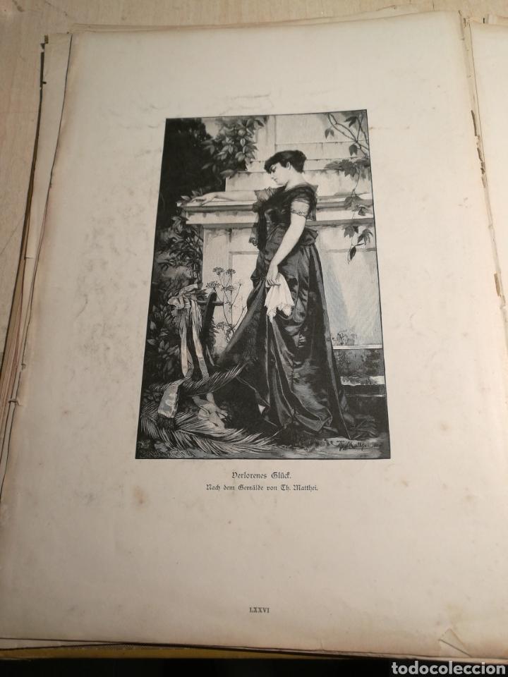 Libros antiguos: Rebajado!. Libro en aleman con numerosas litografias, 1888. - Foto 3 - 132644578