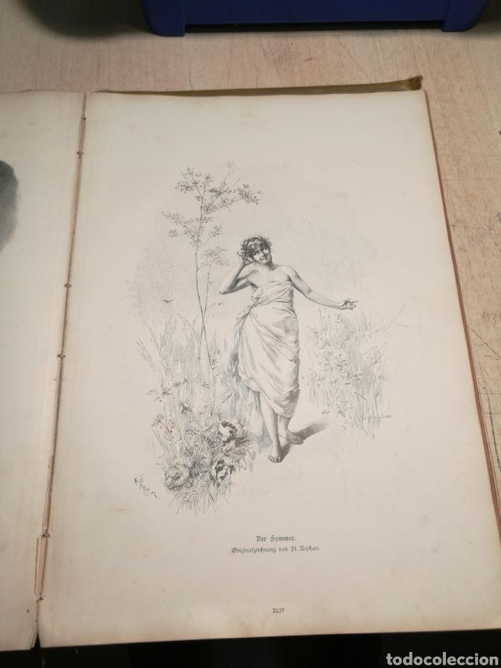Libros antiguos: Rebajado!!. Libro en aleman con numerosas litografias, 1888. - Foto 4 - 132644578