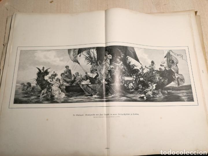 Libros antiguos: Rebajado!. Libro en aleman con numerosas litografias, 1888. - Foto 6 - 132644578
