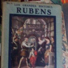Libros antiguos: LOS GRANDES PINTORES HISPANO AMERICANA AÑOS 20 CON LÁMINAS DE SUS OBRAS RUBENS. Lote 134370570