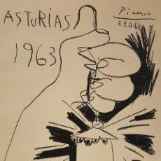 Libros antiguos: ASTURIAS LIBRO CON 45 LITOGRAFÍAS. PARÍS 1964. PICASSO, DE LA SERNA, PEINADO, ÚBEDA, SOLÁ, O. PELAYO. Lote 134577682