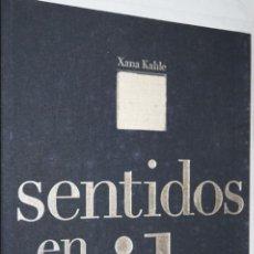 Libros antiguos: SENTIDOS EN VILO. XANA KAHLE. Lote 134628234