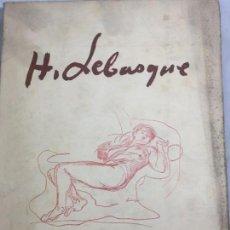 Libros antiguos: HENRI LEBASQUE POR PAUL VITRY 1928 PARIS FRANCÉS ILUSTRADO CALIDAD ROCES EN PORTADAS. Lote 134733774