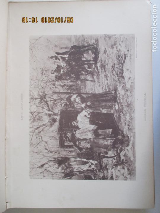 Libros antiguos: LA EXPOSICIÓN NACIONAL DE BELLAS ARTES DE MADRID 1890. TEXTO POR AUGUSTO COMAS Y BLANCO. - Foto 4 - 135520522