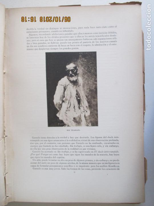Libros antiguos: LA EXPOSICIÓN NACIONAL DE BELLAS ARTES DE MADRID 1890. TEXTO POR AUGUSTO COMAS Y BLANCO. - Foto 6 - 135520522