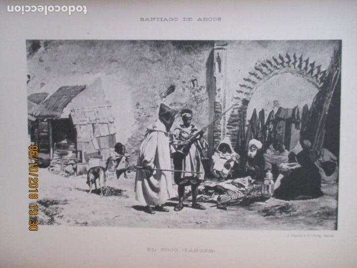 Libros antiguos: LA EXPOSICIÓN NACIONAL DE BELLAS ARTES DE MADRID 1890. TEXTO POR AUGUSTO COMAS Y BLANCO. - Foto 12 - 135520522