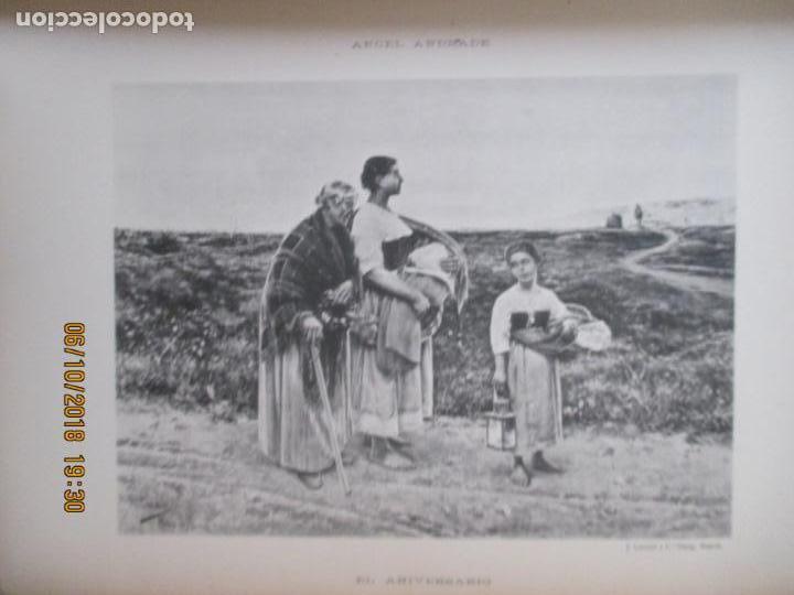 Libros antiguos: LA EXPOSICIÓN NACIONAL DE BELLAS ARTES DE MADRID 1890. TEXTO POR AUGUSTO COMAS Y BLANCO. - Foto 13 - 135520522