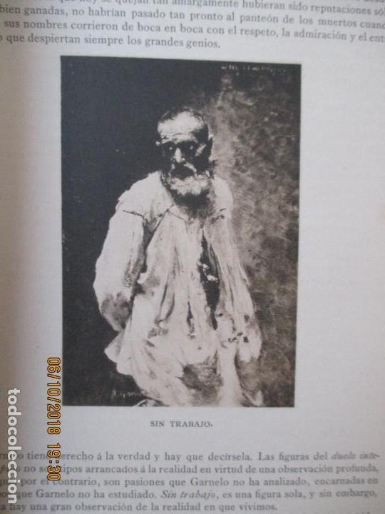Libros antiguos: LA EXPOSICIÓN NACIONAL DE BELLAS ARTES DE MADRID 1890. TEXTO POR AUGUSTO COMAS Y BLANCO. - Foto 14 - 135520522