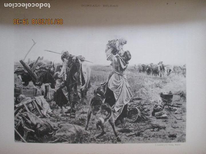 Libros antiguos: LA EXPOSICIÓN NACIONAL DE BELLAS ARTES DE MADRID 1890. TEXTO POR AUGUSTO COMAS Y BLANCO. - Foto 15 - 135520522
