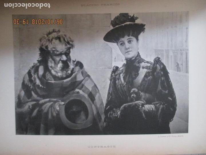 Libros antiguos: LA EXPOSICIÓN NACIONAL DE BELLAS ARTES DE MADRID 1890. TEXTO POR AUGUSTO COMAS Y BLANCO. - Foto 16 - 135520522