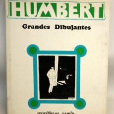Libros antiguos: GRANDES DIBUJANTES: MANUEL HUMBERT-ED TABER-1970.. Lote 135786882