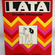 Libros antiguos: GRANDES DIBUJANTES: LATA (FRANCESC LABARTA).ED TABER.. Lote 135787046