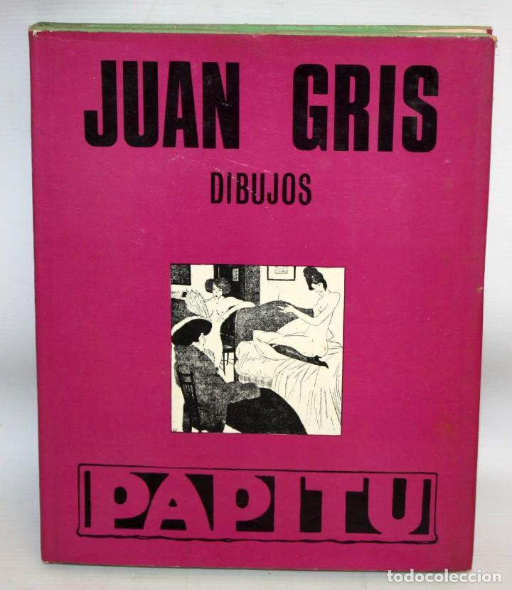 JUAN GRIS-DIBUJOS-PAPITU-ED.TABER. (Libros Antiguos, Raros y Curiosos - Bellas artes, ocio y coleccion - Pintura)
