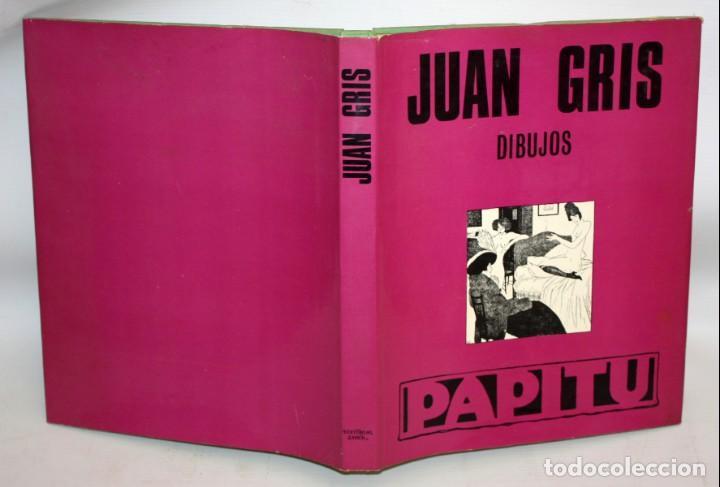 Libros antiguos: JUAN GRIS-DIBUJOS-PAPITU-ED.TABER. - Foto 2 - 136163578