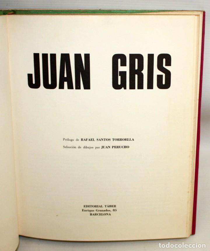 Libros antiguos: JUAN GRIS-DIBUJOS-PAPITU-ED.TABER. - Foto 3 - 136163578