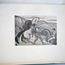 Libros antiguos: OTTO FISCHER. LA NUEVA IMAGEN. 1912 EXPRESIONISMO ALEMÁN. CON 36 GRABADOS, NUMERADO 367/800 UNIDADES. Lote 136837754