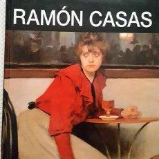 Libros antiguos: LIBRO DE PINTURAS DE - RAMON CASAS - LA ERA DE LOS IMPRESIONISTAS - 1866 - 1932 -. Lote 137181082
