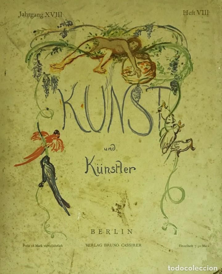 KUNST UND KÜNSTLER (Libros Antiguos, Raros y Curiosos - Bellas artes, ocio y coleccion - Pintura)