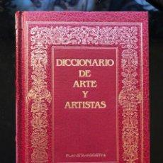 Libros antiguos: DICCIONARIO DE ARTE Y ARTISTAS (MURRAY) PLANETA AGOSTINI 1ª EDICIÓN 1968. Lote 138108082