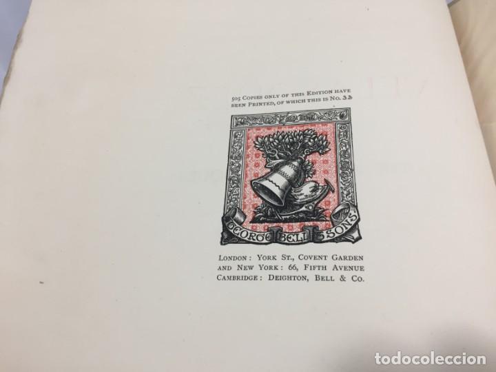 Libros antiguos: Tha Art Of Velasquez 1895 R.A.M. Stevenson 19 grabados papel especial ex-libris numerado 33/505 - Foto 3 - 138883294