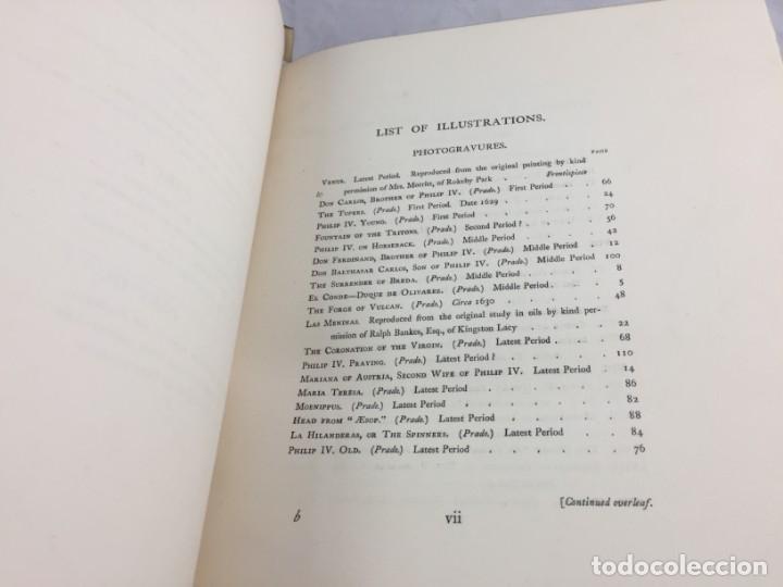 Libros antiguos: Tha Art Of Velasquez 1895 R.A.M. Stevenson 19 grabados papel especial ex-libris numerado 33/505 - Foto 5 - 138883294