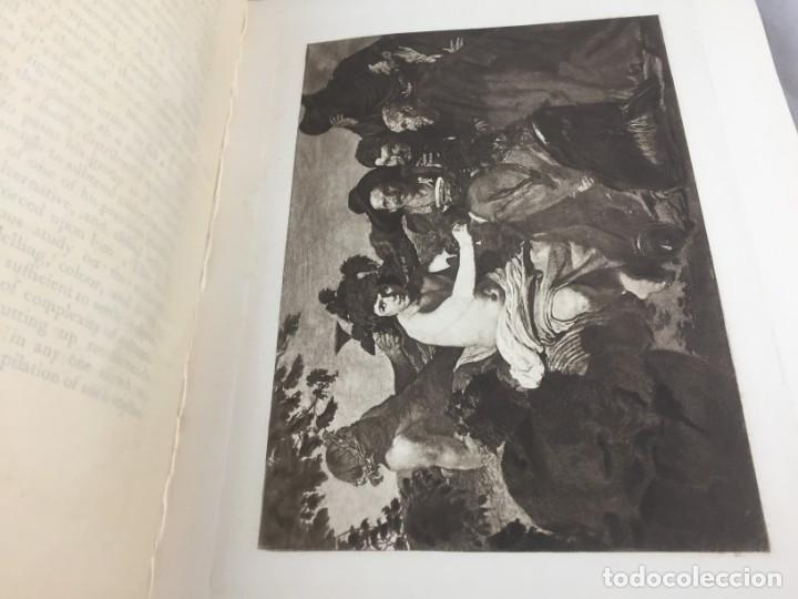Libros antiguos: Tha Art Of Velasquez 1895 R.A.M. Stevenson 19 grabados papel especial ex-libris numerado 33/505 - Foto 8 - 138883294