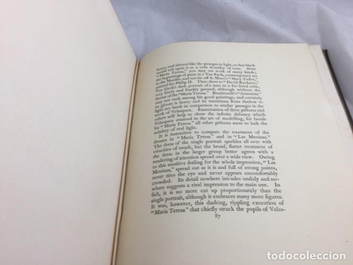 Libros antiguos: Tha Art Of Velasquez 1895 R.A.M. Stevenson 19 grabados papel especial ex-libris numerado 33/505 - Foto 15 - 138883294