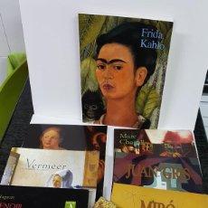 Libros antiguos: LOTE DE 8 LIBROS DE PINTORES QUE MARCARON LA PINTURA DE TODOS LOS TIEMPOS. Lote 139564326