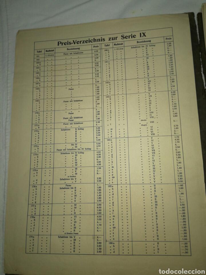 Libros antiguos: Manual de decoración Grohmann Malercien in Blumen und Ornament Serie IX - Foto 5 - 139576261