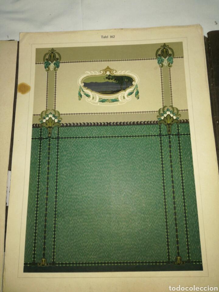 Libros antiguos: Manual de decoración Grohmann Malercien in Blumen und Ornament Serie IX - Foto 7 - 139576261