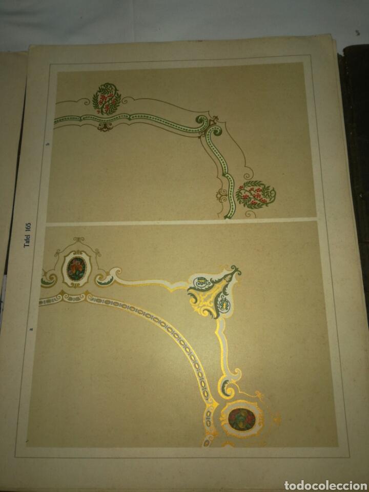 Libros antiguos: Manual de decoración Grohmann Malercien in Blumen und Ornament Serie IX - Foto 9 - 139576261