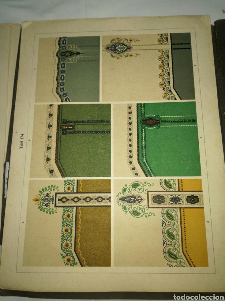 Libros antiguos: Manual de decoración Grohmann Malercien in Blumen und Ornament Serie IX - Foto 11 - 139576261