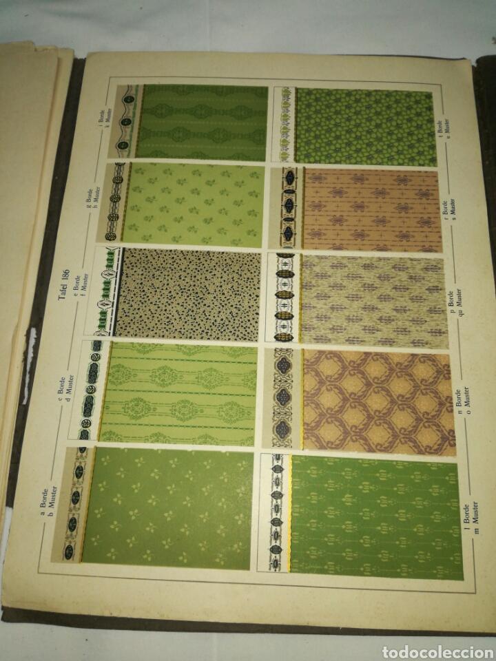 Libros antiguos: Manual de decoración Grohmann Malercien in Blumen und Ornament Serie IX - Foto 14 - 139576261