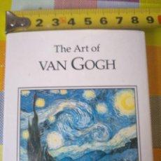 Libros antiguos: THE ART OF VAN GOGH. EEUU LIBRO CON 32 PEQUEÑAS LÁMINAS. 80 PAG. Lote 139945490