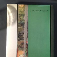 Libros antiguos: GERARDO RUEDA - CATÁLOGO. Lote 140045282
