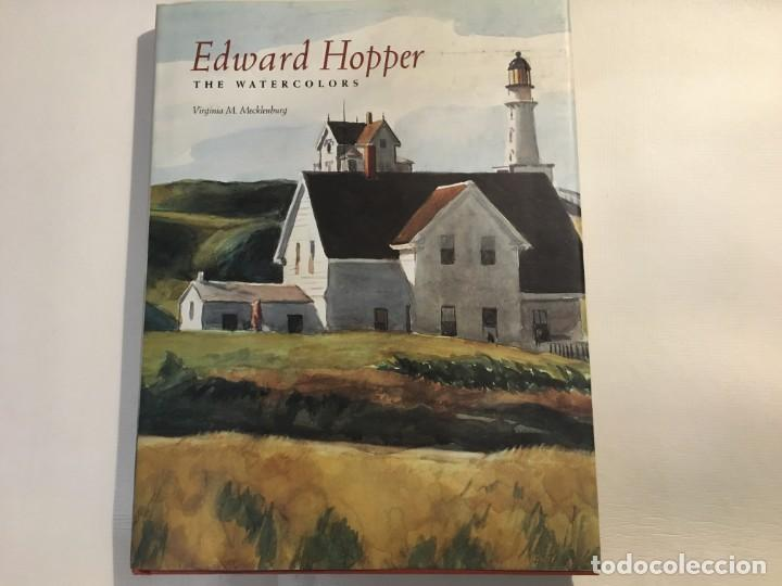 EDWARD HOPPER THE WATERCOLORS - VIRGINIA M.MECKLENBURG (Libros Antiguos, Raros y Curiosos - Bellas artes, ocio y coleccion - Pintura)