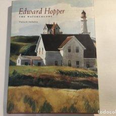 Libros antiguos: EDWARD HOPPER THE WATERCOLORS - VIRGINIA M.MECKLENBURG . Lote 140156482