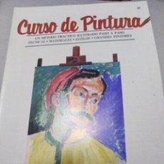 Libros antiguos: CURSO DE DIBUJO Y PINTURA ORBIS. Lote 141237126