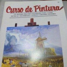 Libros antiguos: CURSO DE DIBUJO Y PINTURA ORBIS. Lote 141237362