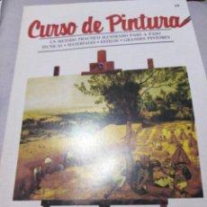 Libros antiguos: CURSO DE DIBUJO Y PINTURA ORBIS. Lote 141237566