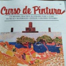 Libros antiguos: CURSO DE PINTURA ORBIS. Lote 141476222