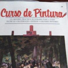 Libros antiguos: CURSO DE PINTURA ORBIS. Lote 141476402