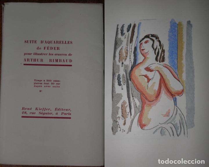 46 ACUARELAS DE WALTER BRANDAO FEDER (1909-1957) SUITE DE ACUARELAS DE FEDER, LA NUMERO 1 DE 50 UNID (Libros Antiguos, Raros y Curiosos - Bellas artes, ocio y coleccion - Pintura)
