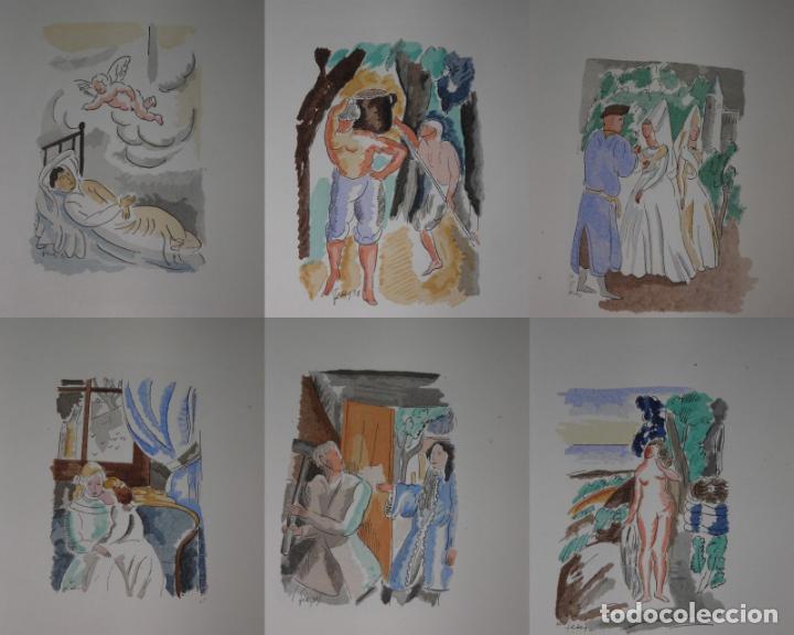 Libros antiguos: 46 ACUARELAS DE WALTER BRANDAO FEDER (1909-1957) SUITE DE ACUARELAS DE FEDER, LA NUMERO 1 DE 50 UNID - Foto 8 - 141709542