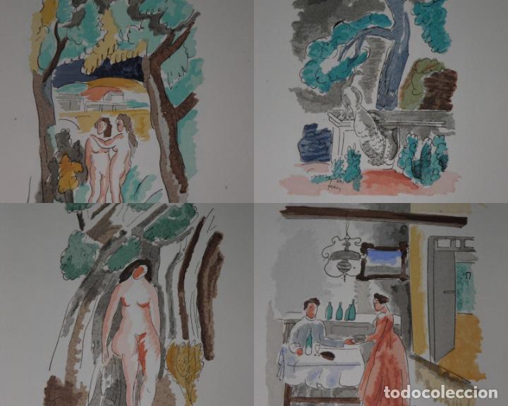 Libros antiguos: 46 ACUARELAS DE WALTER BRANDAO FEDER (1909-1957) SUITE DE ACUARELAS DE FEDER, LA NUMERO 1 DE 50 UNID - Foto 9 - 141709542