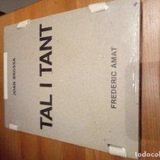 Libros antiguos: JOAN BROSSA TAL I TANT. Lote 141827178