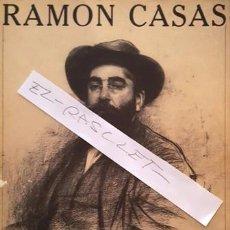 Libros antiguos: LIBRO - RAMON CASAS - RETRATS AL CARBO - AJUNTAMENT DE BARCELONA - 1982 -. Lote 142288646